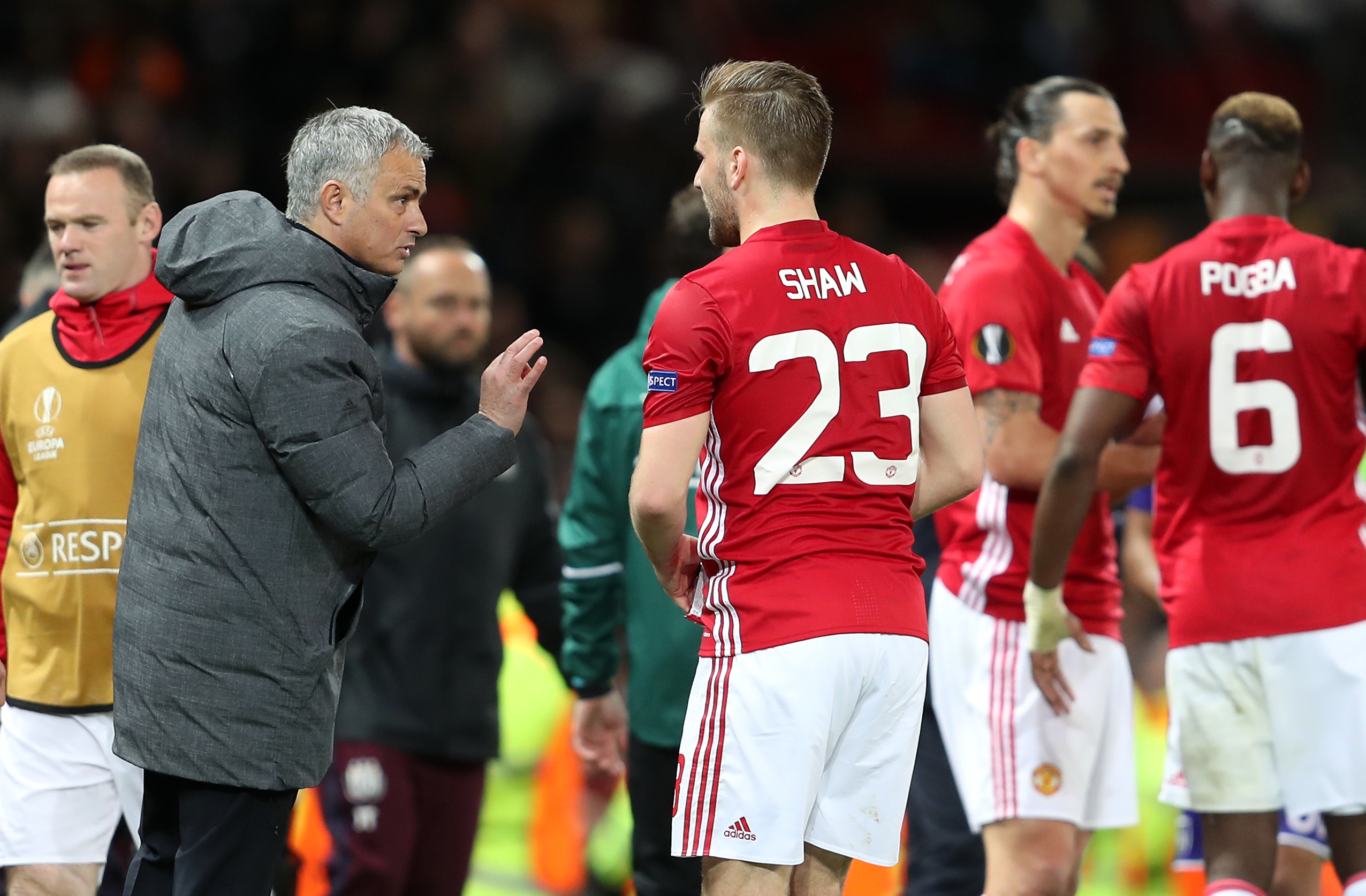 Jose Mourinho and Luke Shaw had a complicated relationship at Man Utd