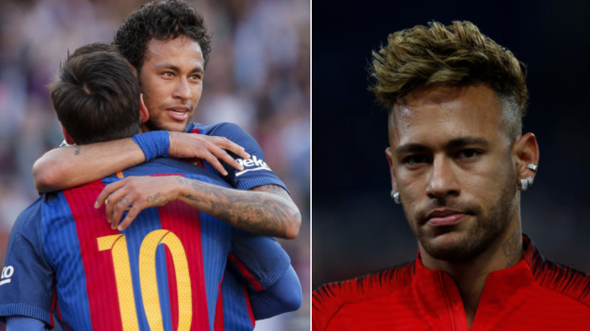 Lionel Messi Responds To Rumours Linking Neymar With A Return To Barcelona