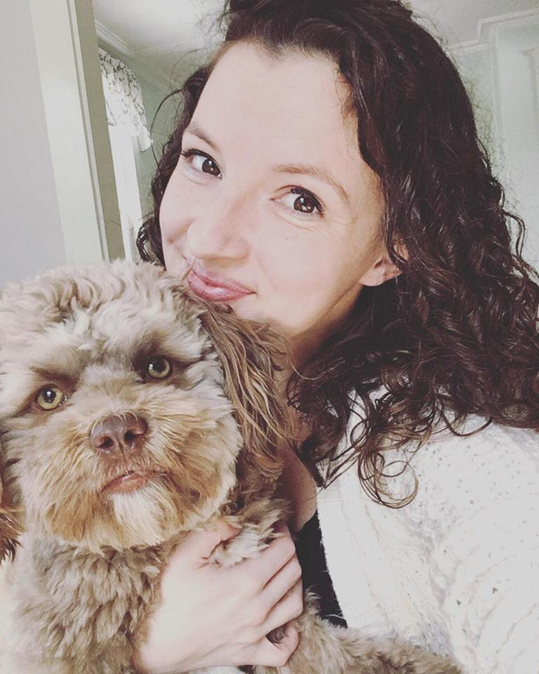 Internet shocked by dog with strikingly humanlike face