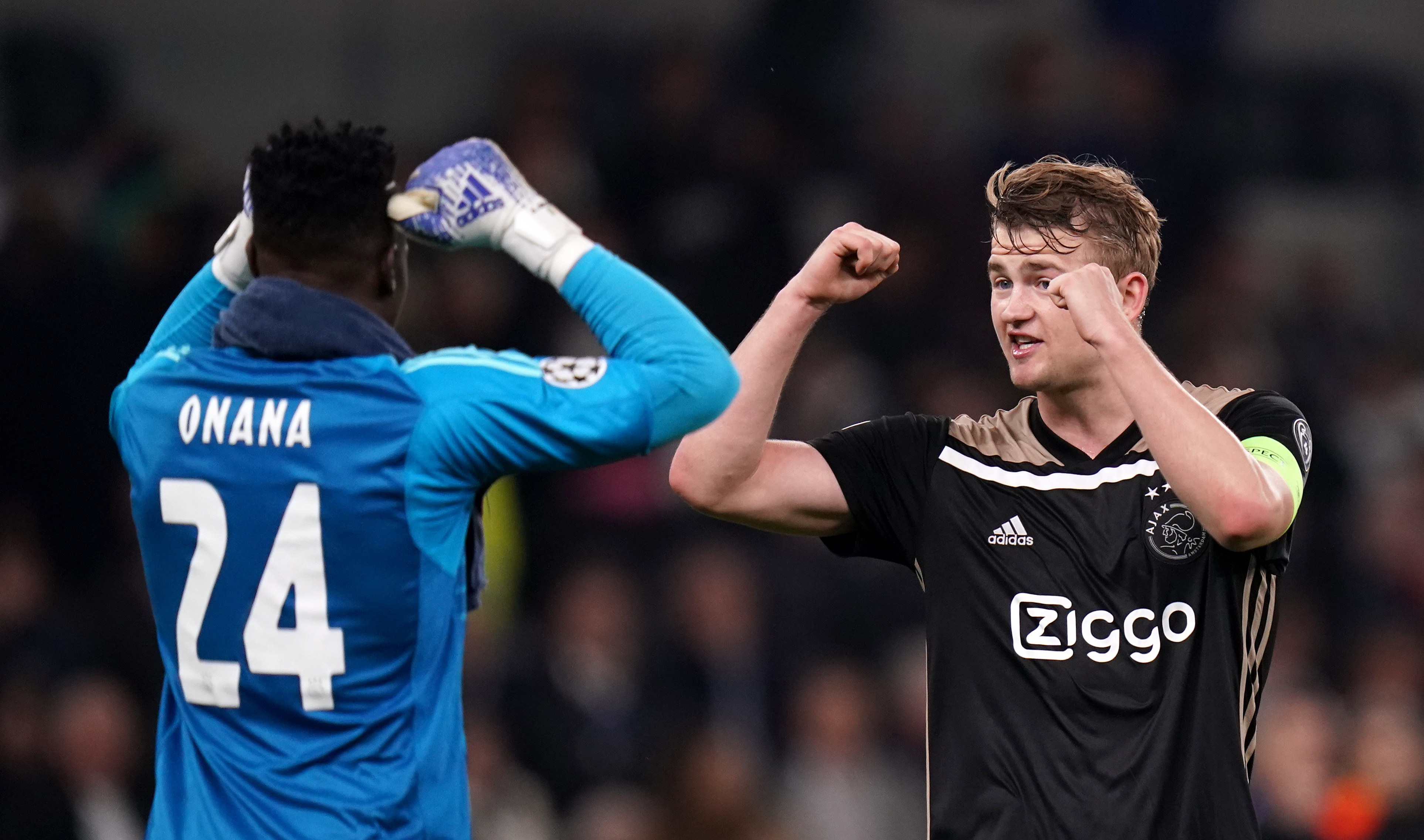 De Ligt gives update on future after Ajax's final home game
