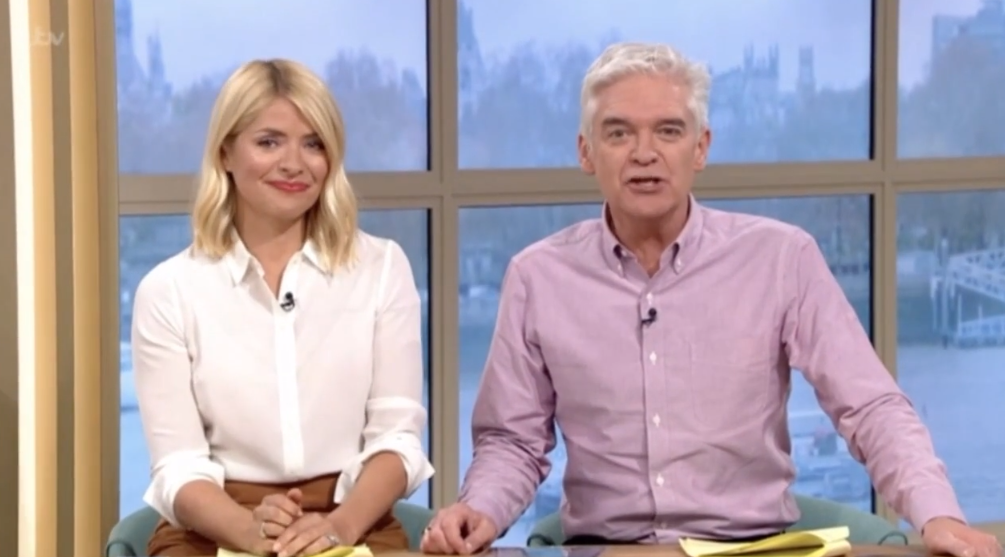 Holly and Phil announced the news. (Credit: ITV)
