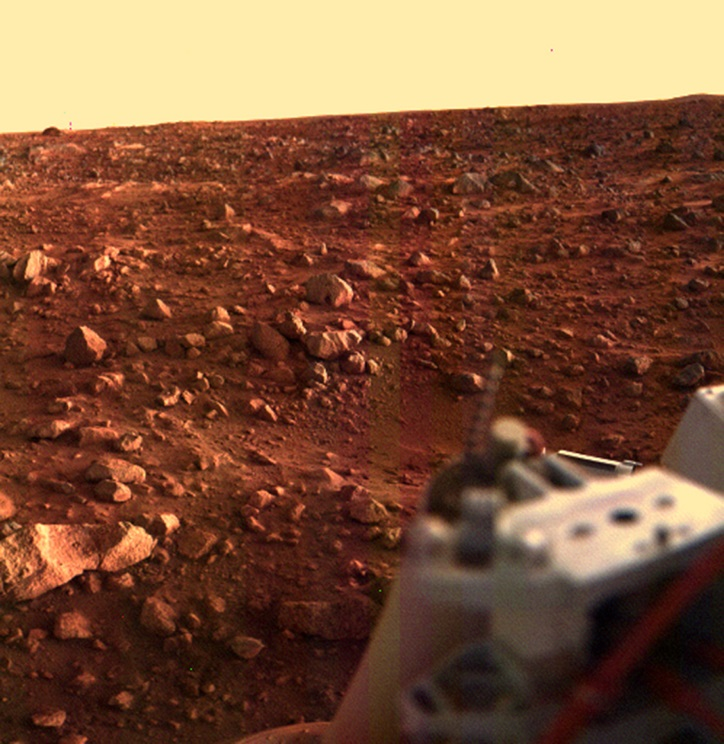 New NASA Image Shows 'Spiders' Crawling Over Mars' Surface