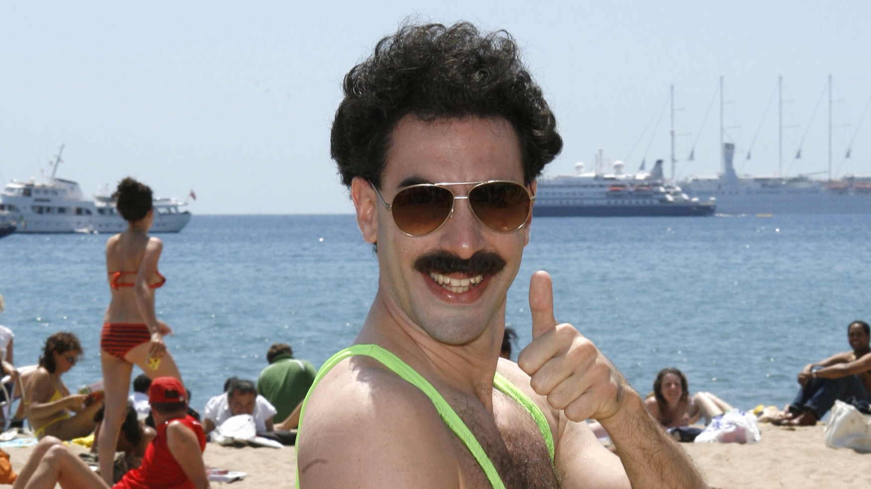 Tourists Arrested In Kazakhstan Capital For Wearing Borat 'Mankinis' In Public