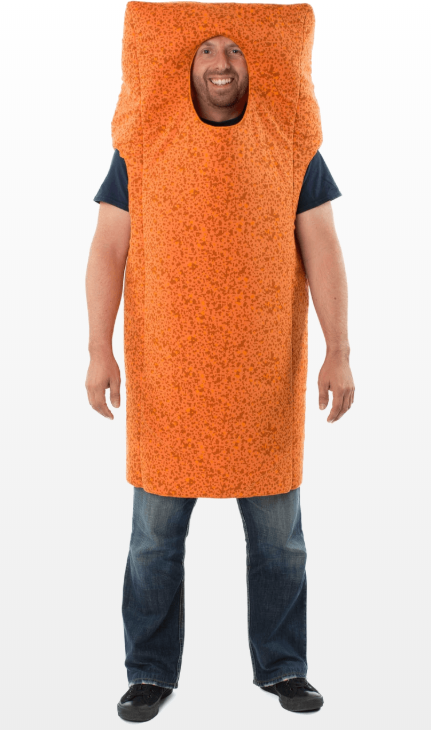The fish finger fancy dress costume. Credit: Jokers' Masquerade