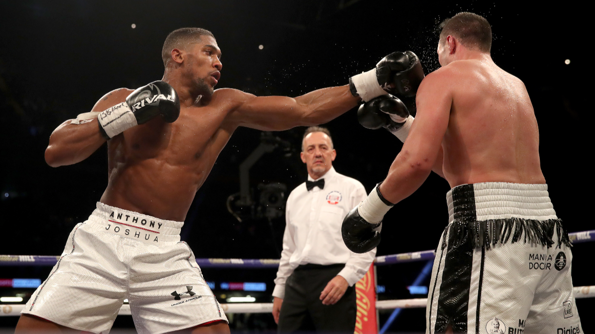 creed ii filming at joshua vs parker fight turns fans into movie