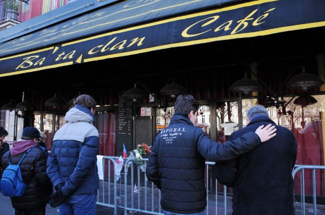 Bataclan outside
