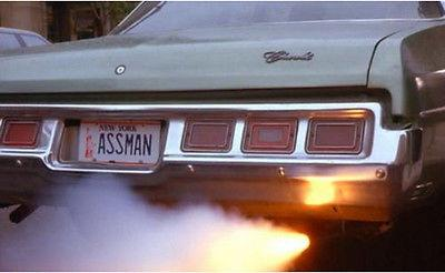 How the license plate might have looked. Credit: Seinfeld / NBC