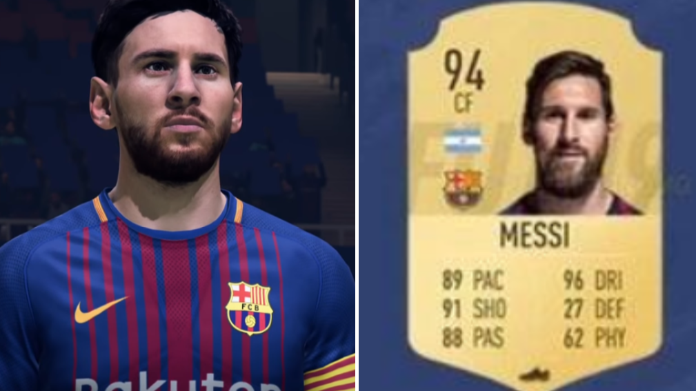 Lionel Messis Fifa  Card Has Been Leaked