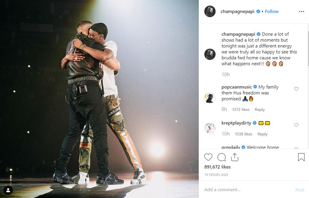 Credit: Drake/Instagram