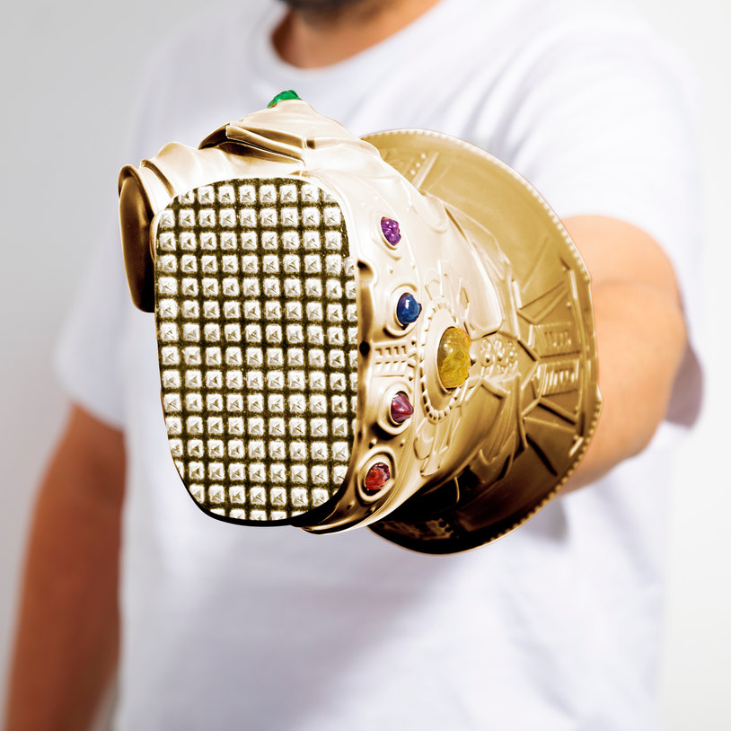 It features spike-textured knuckles on the underside. Credit: Firebox
