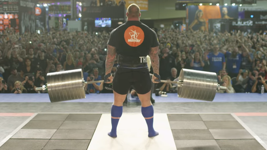 The Mountain From 'Game Of Thrones' Just Set A New Deadlift World Record