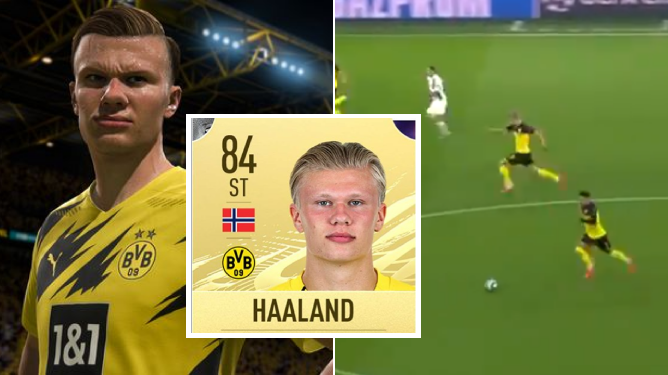 Fascinating Video Proves Ea Sports Have Made A Mistake With Erling Haaland S Fifa 21 Rating Sportbible