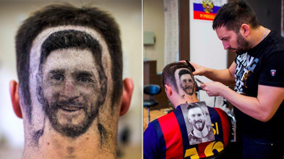 A Hairdresser In Serbia Has Gone Viral For His 'Lionel Messi' Haircuts