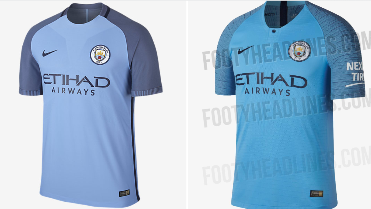 quality design 395d4 bec75 Manchester City's 2018/19 Home Kit Is Basically The Same As ...