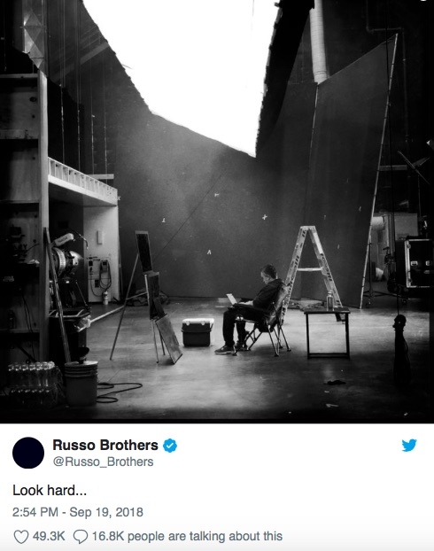 Credit: Russo Brothers/Twitter