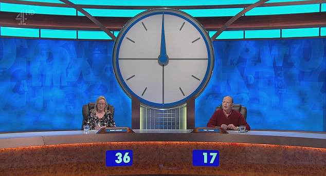 Contestants Diane and Toby (Credit: Channel 4/Countdown)