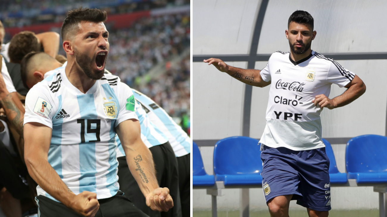 Sergio Aguero Wasn't Left On The Bench For Footballing Reasons