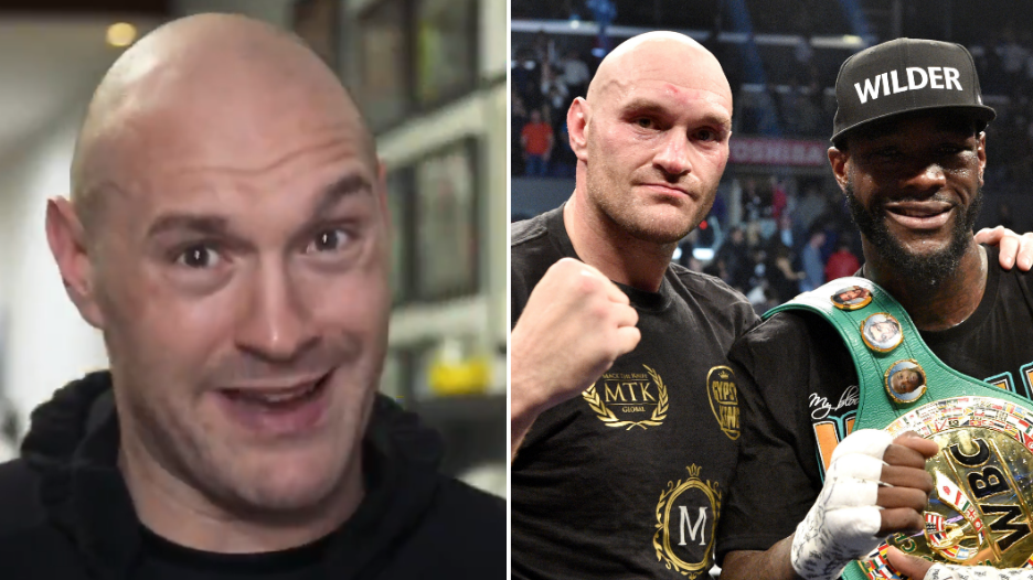 Tyson Fury Issues Hilarious Message To Deontay Wilder Ahead Of Potential Rematch