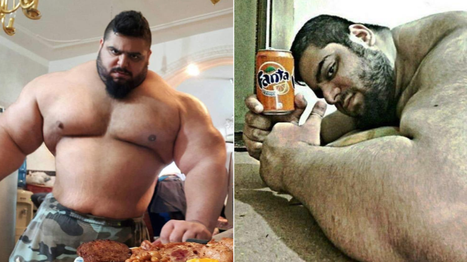 Meet The 'Iranian Hulk' Who Has The Most Insane Instagram Page