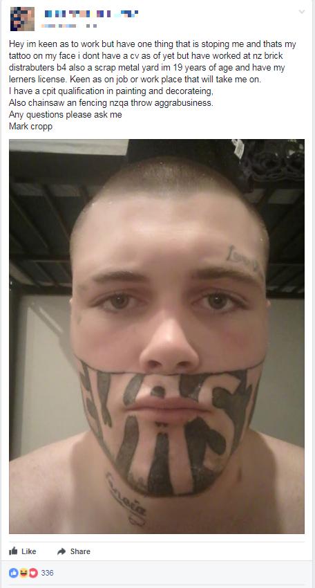 Devast8 tattoo