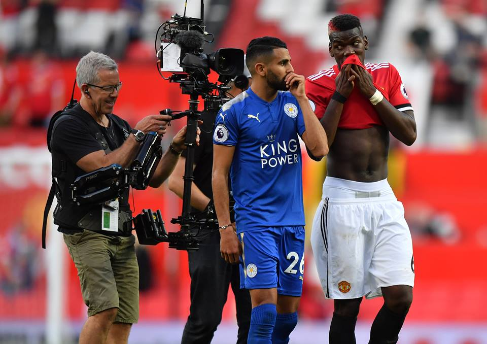 Mahrez leaves Algeria camp to 'formalise' transfer