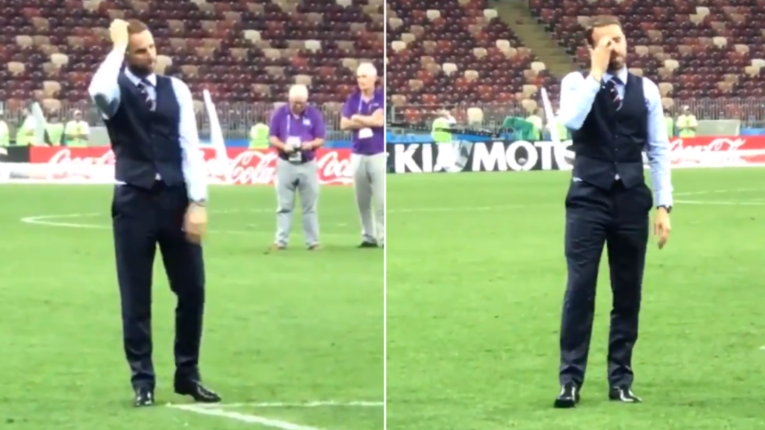The Reception An Emotional Gareth Southgate Received After Full-Time Might Make You Cry