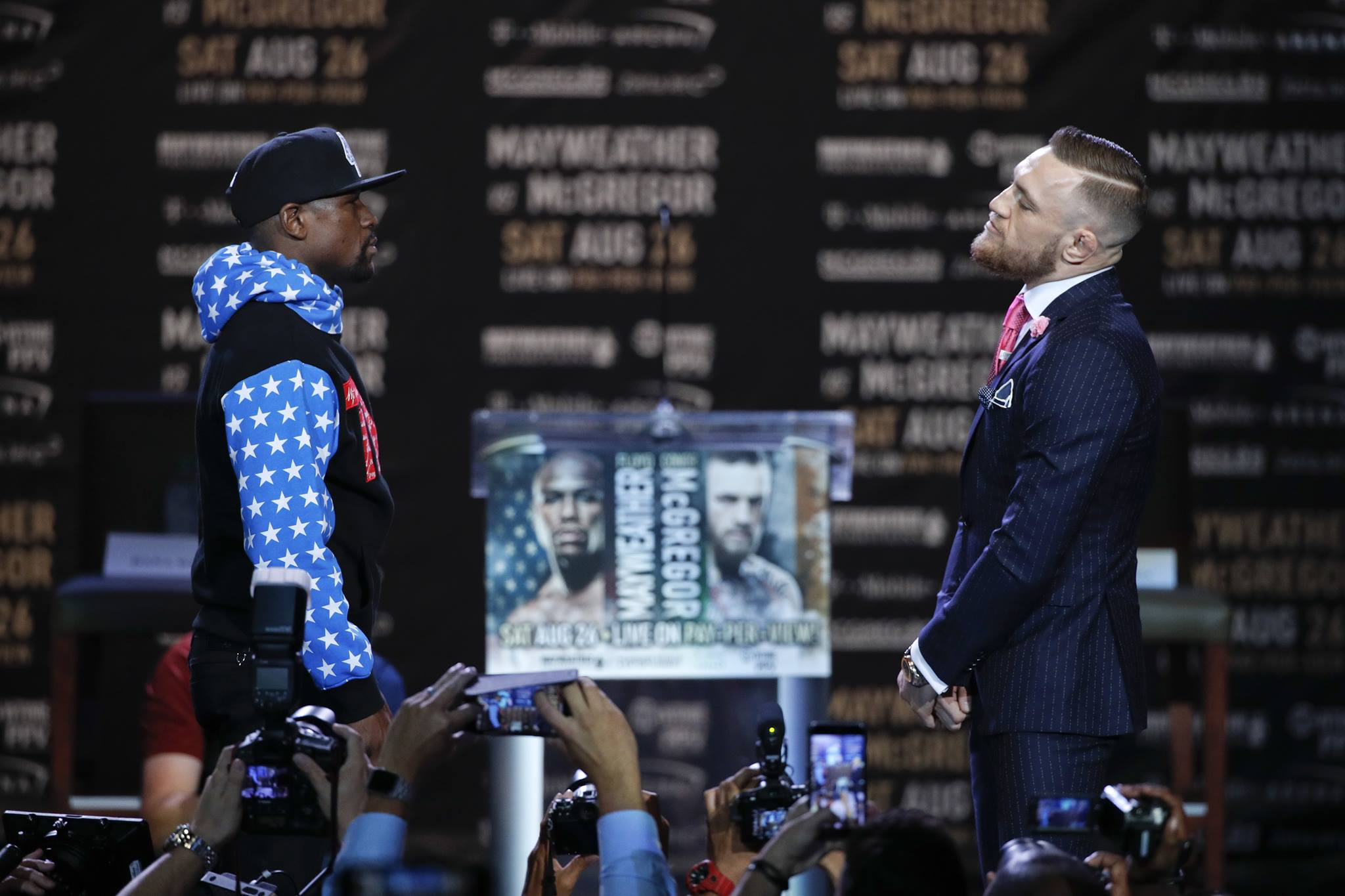 Conor McGregor's 'Dance, Boy' Comments Weren't Racist, Says Floyd Mayweather Sr