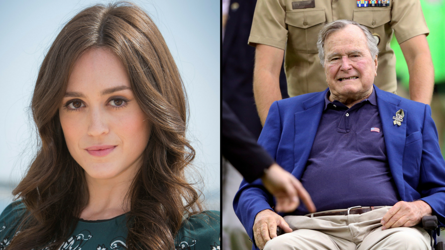 George Bush Sr. Apologies After Actor Calls Him Out For Sexual Assault