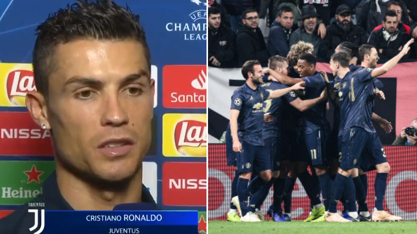 558be1005 Cristiano Ronaldo s  Disrespectful  Post-Match Interview Has Angered  Manchester ...