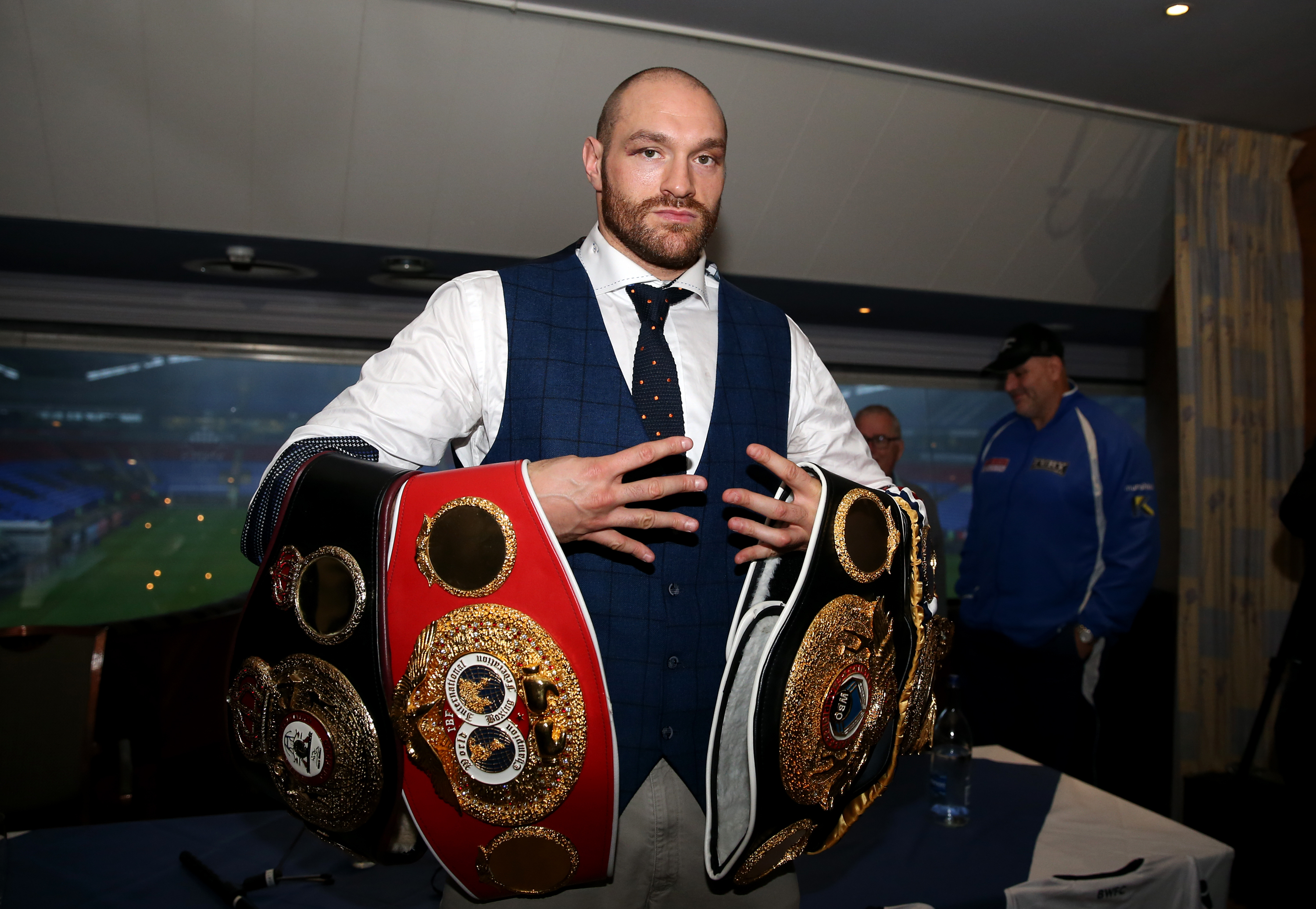 Following His Klitschko Victory In Dusseldorf Fury Revealed That He Owes Famous Moniker To A Distant Family Member