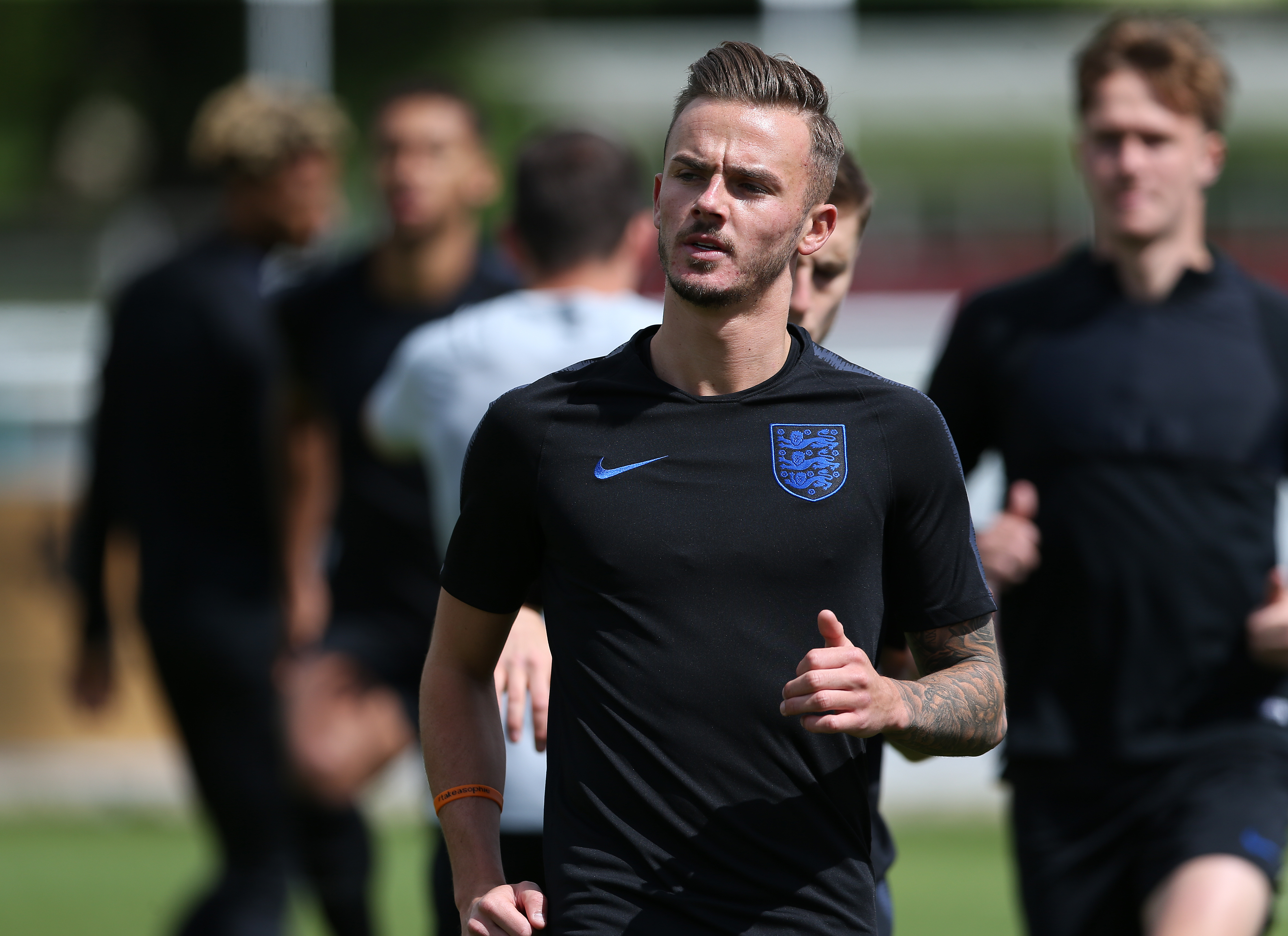 James Maddison could cover a number of positions through the middle or out wide. Image: PA Images