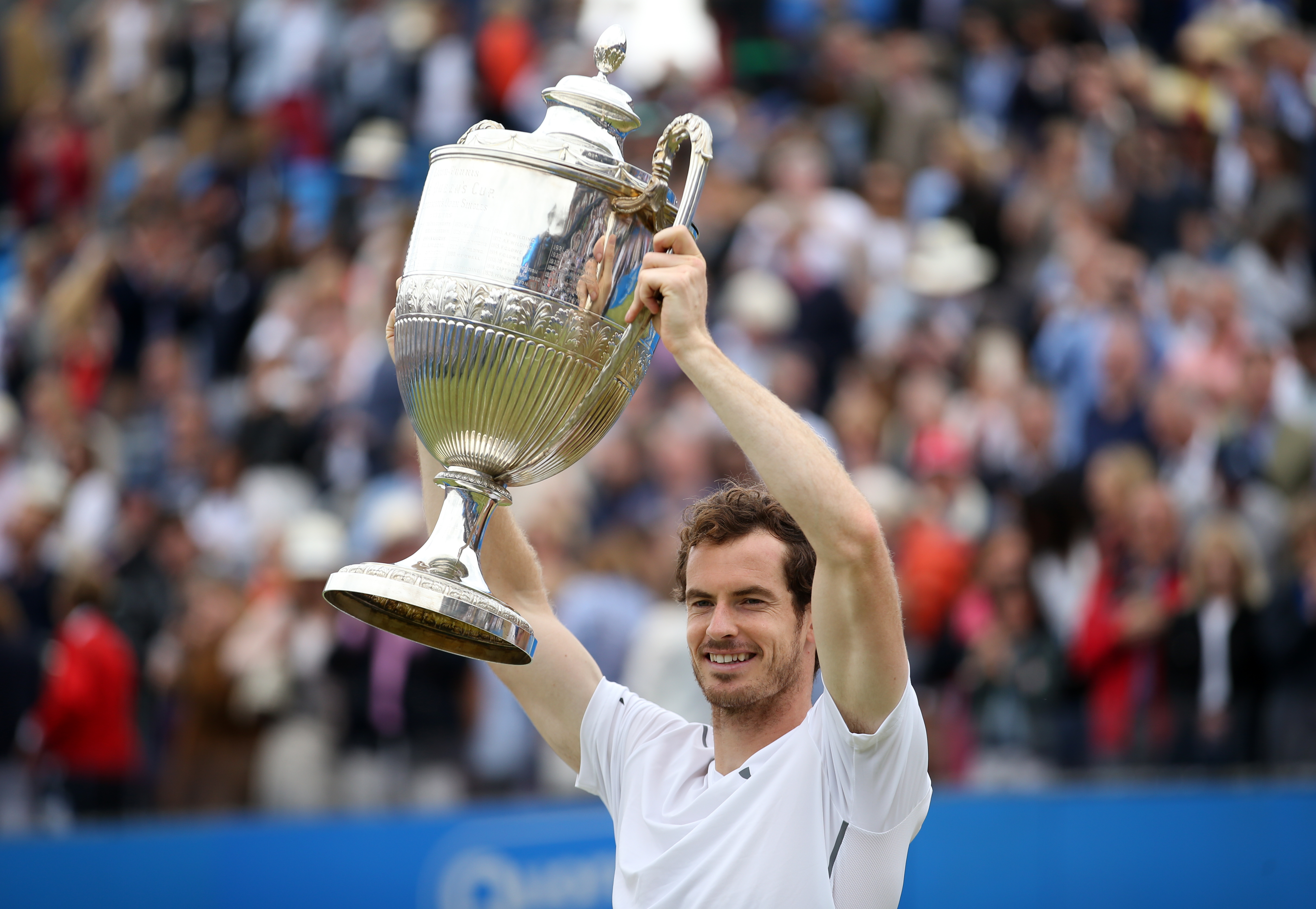 Murray has won at Queen's Club five times on his own. Image: PA Images