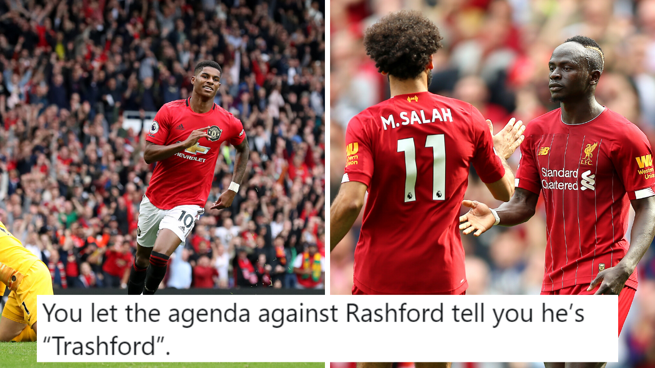 Fan S Tweet Comparing Rashford S Stats This Season To Salah And Mane Goes Viral Sportbible
