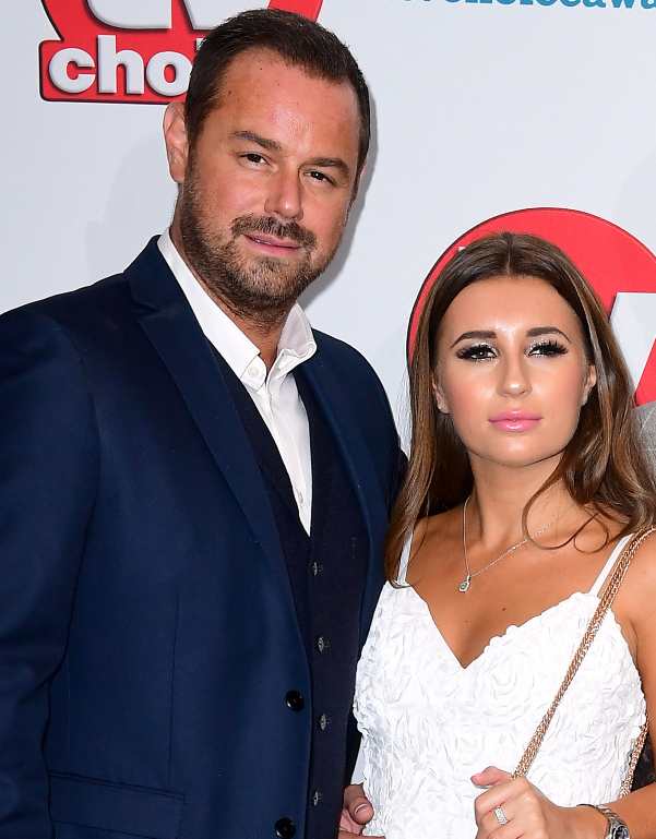 Danny Dyer with Dani Dyer. Credit: PA