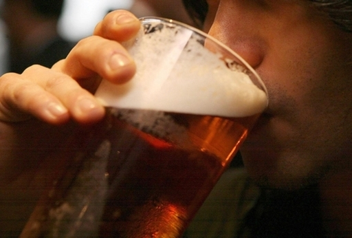 Experts have warned that giving up alcohol can be more harmful. Credit: PA