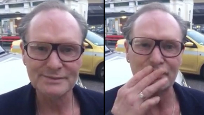Paul Gascoigne Filmed Looking Happy And Healthy After 'Looking After Himself'