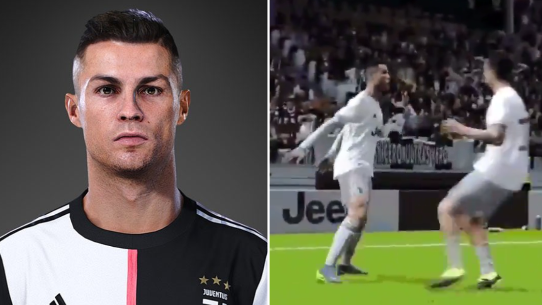 First Look At Cristiano Ronaldo's Siii Celebration In PES