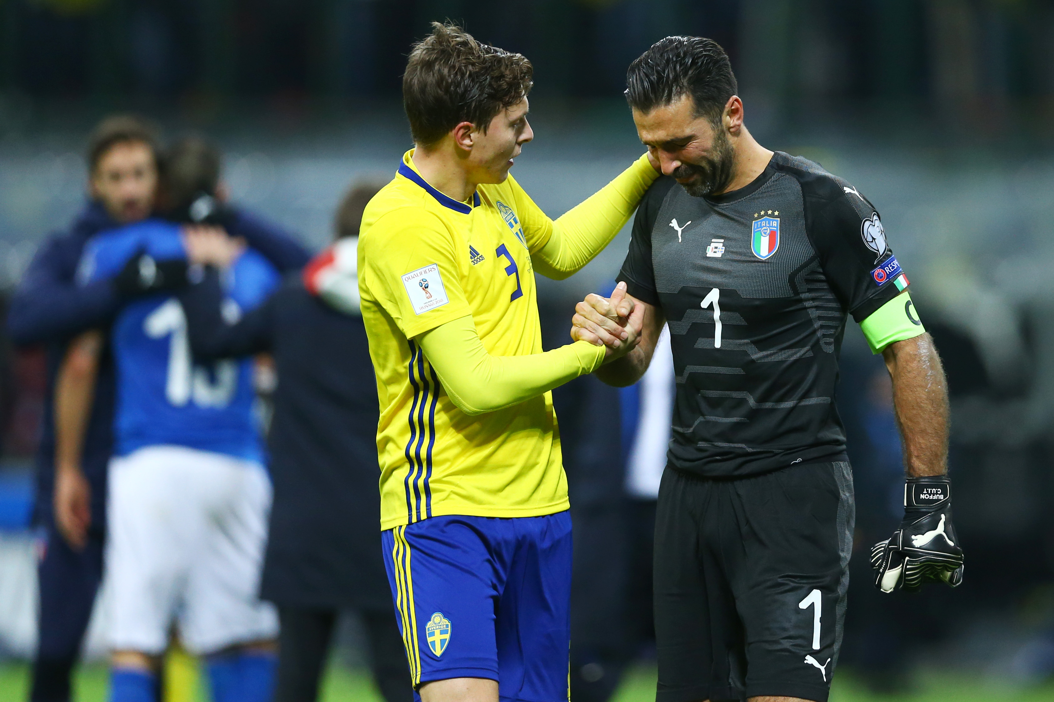 Ventura's status still in question after Italy eliminated