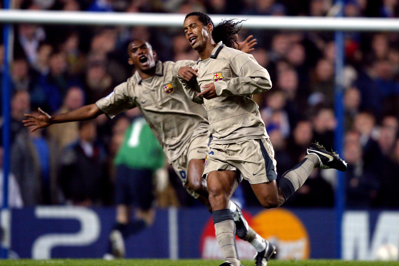 Throwback: Ronaldinho's Iconic Champions League Strike Against Chelsea -  SPORTbible