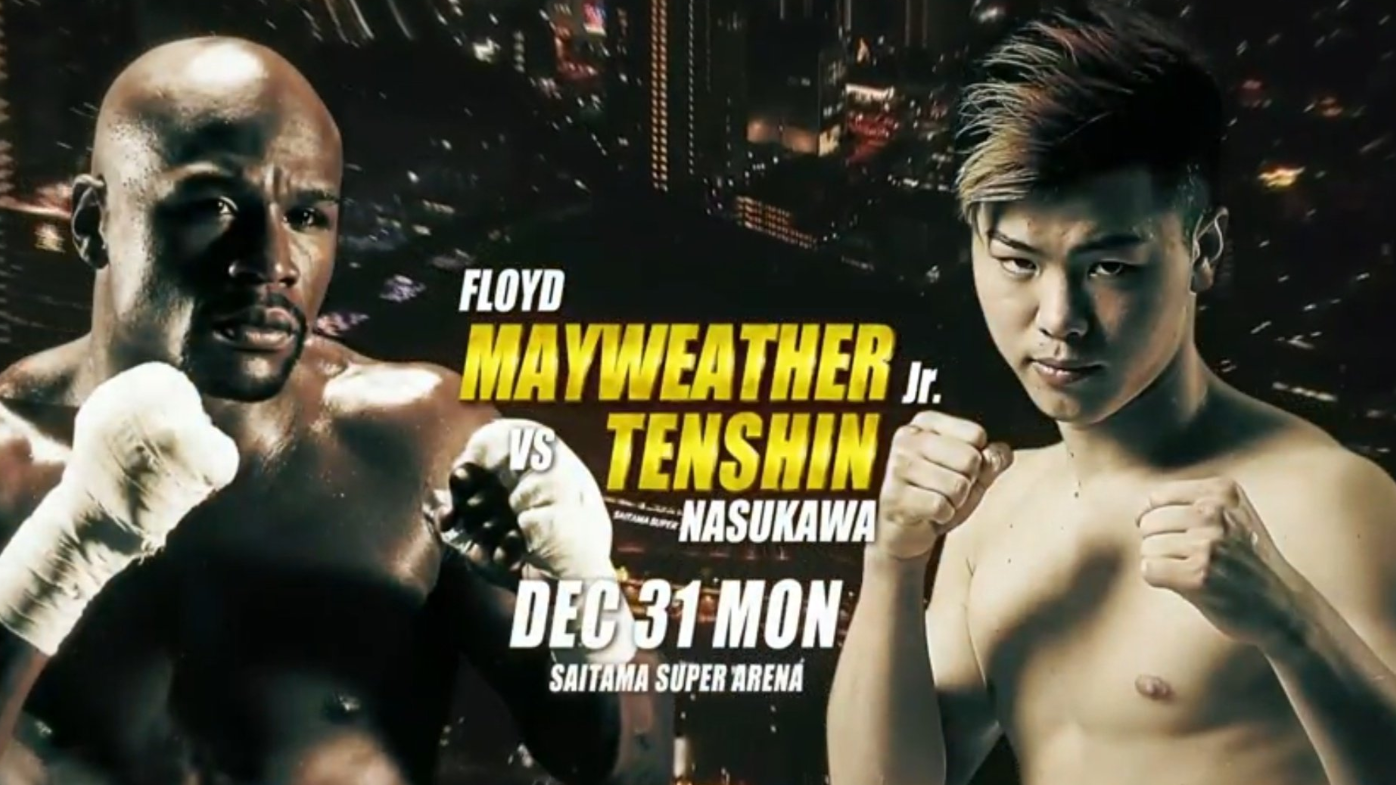 Floyd Mayweather To Face Undefeated 20-Year Old Japanese Kickboxer On New Year's Eve