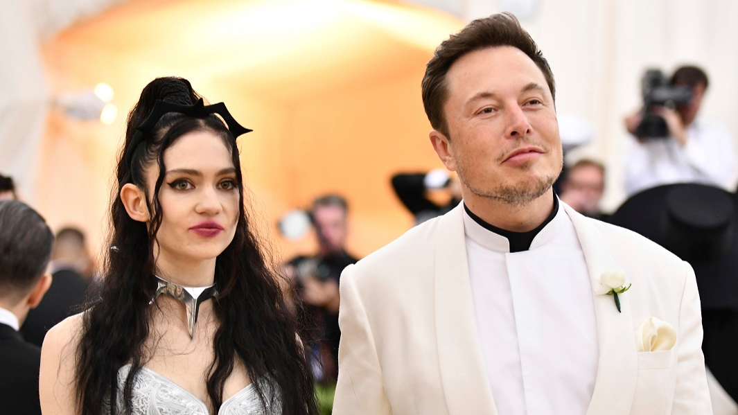 grimes and elon musk actually appreciate your memes about their