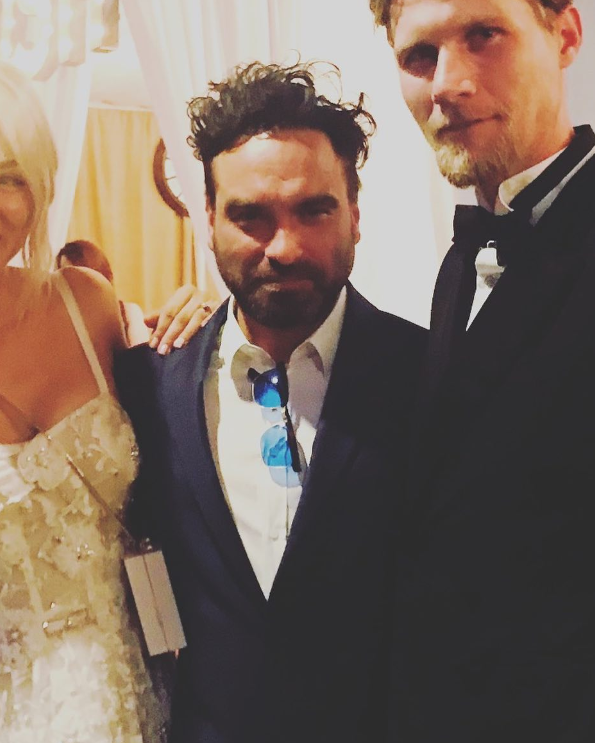 Credit: Instagram/Johnny Galecki