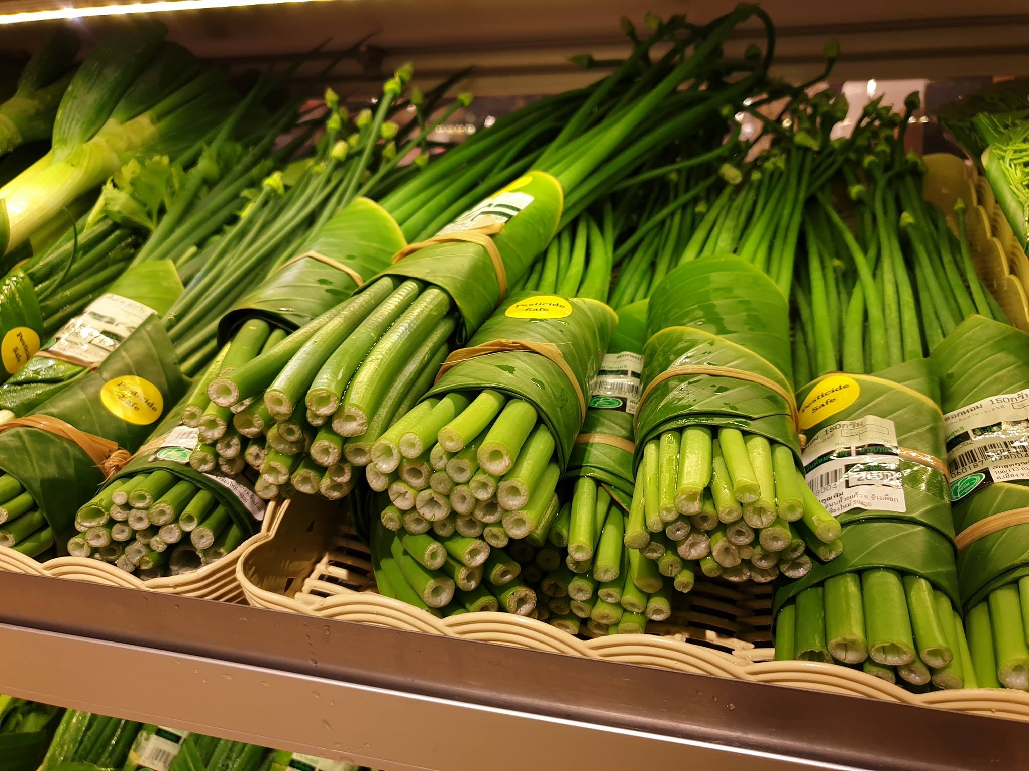 Lovely veg, wrapped in leaves. Credit: Facebook