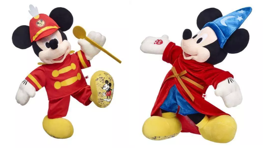 1b10aa18a54 Build-A-Bear Launches Limited-Edition Mickey Mouse Toys To Celebrate 90th  Anniversary