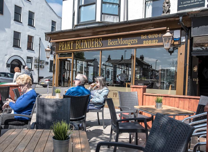 Peaky Blinder bars have opened across the country. Credit: Peaky Blinders Bar