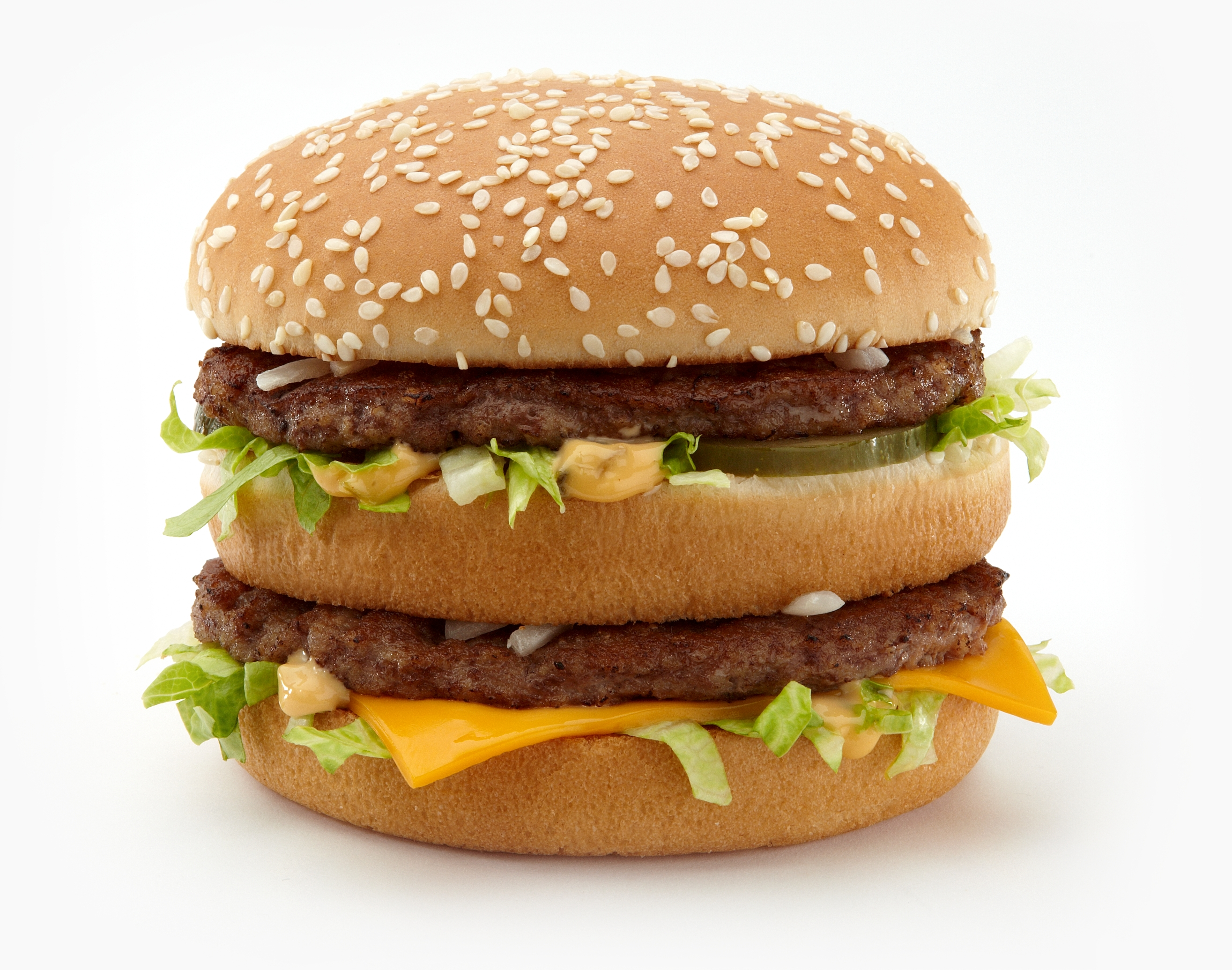 The classic Big Mac is being given a twist. (Credit: McDonald's)