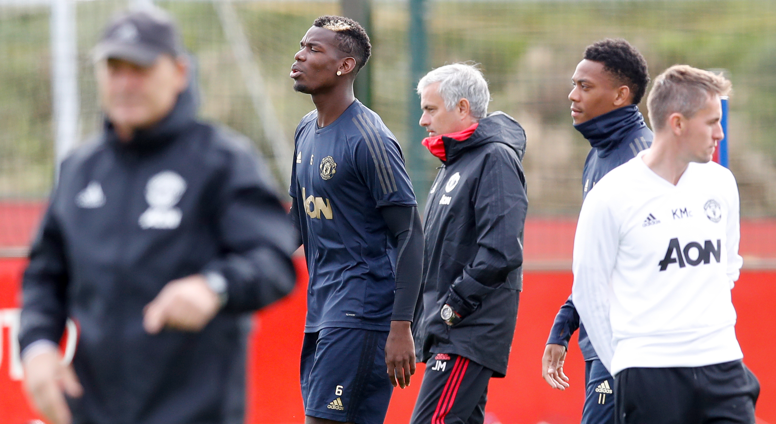 Mino Raiola insists Paul Pogba will remain a Manchester United player