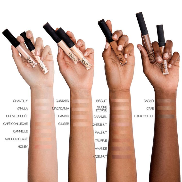 The concealer comes in 22 shades. (Credit: NARS Cosmetics)