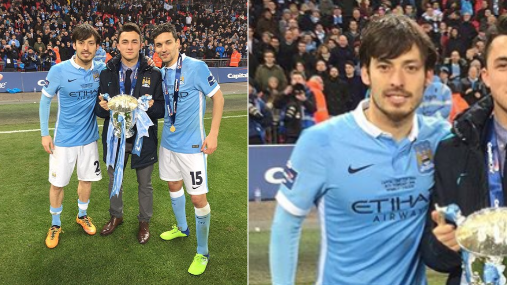 The Brilliant Story Behind David Silva's 'Missing' Capital One Cup Winners Medal
