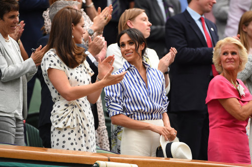 Kate Middleton and Prince William enjoy date night at Wimbledon